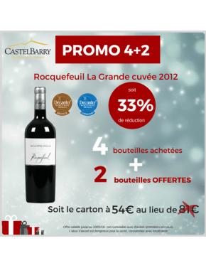 Promo ROCQUEFEUIL La Grande cuvée 2012