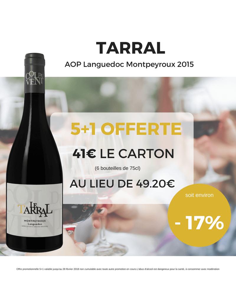 PROMO TARRAL AOP Languedoc Montpeyroux