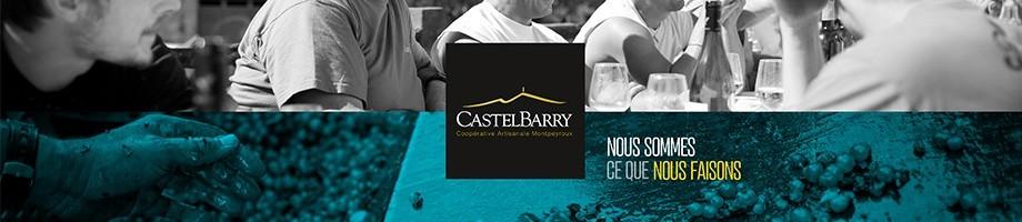 Castelbarry Cooperative Artisanale nos cuvées blanc