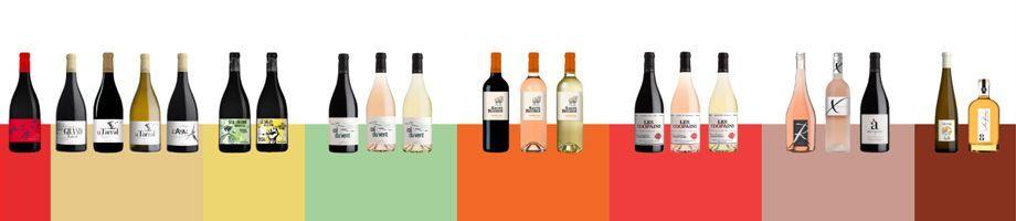 Gammes de vins